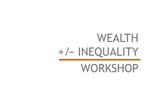 Wealth Inequality Workshop